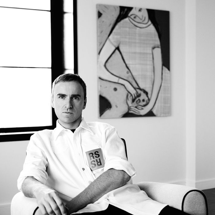 Raf Simons will have unprecedented creative control.
