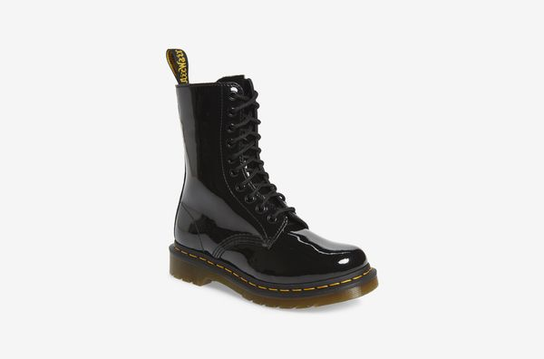 Dr. Martens 1490 Patent Lace-Up Boot