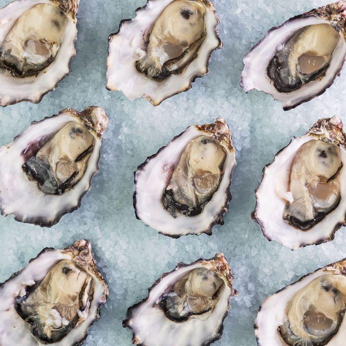 Gwen Stefani, oysters.