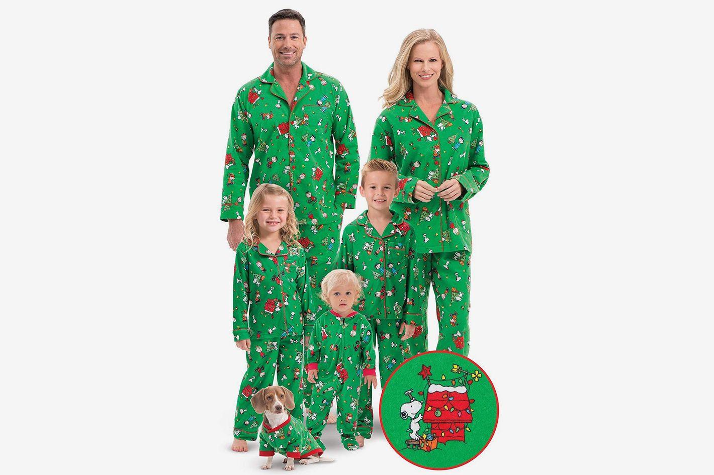 de2cd3152a PajamaGram Family Christmas Pajamas Soft, Green