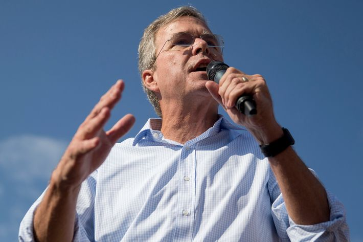 Jeb Bush Speaks At Iowa State Fair Soapbox
