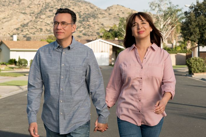 Fred Armisen and Maya Rudolph in Forever.