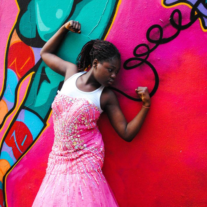 Girls Clubs Make Art From Old Prom Dresses