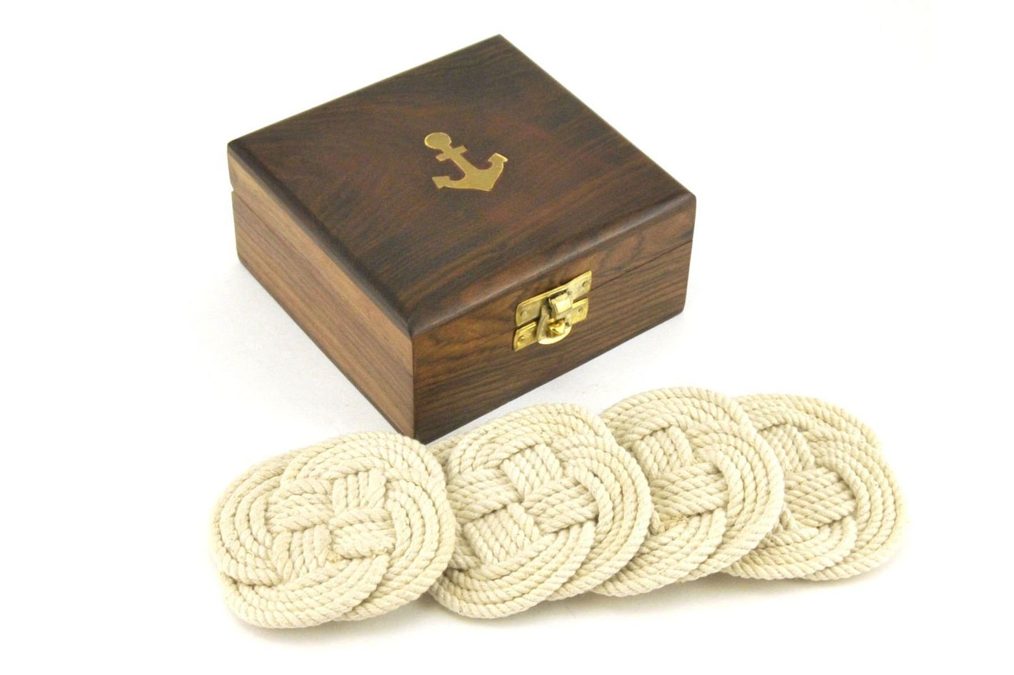 Sailor's Rope Coaster Set