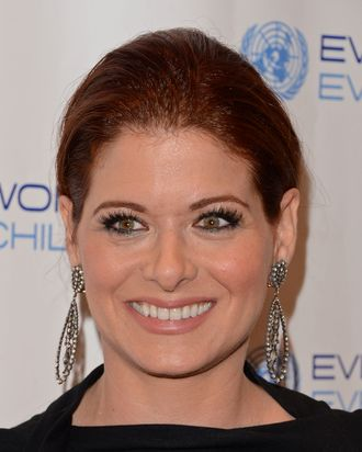 Actress Debra Messing attends United Nations Every Woman Every Child Dinner 2012 on September 25, 2012 in New York, United States.