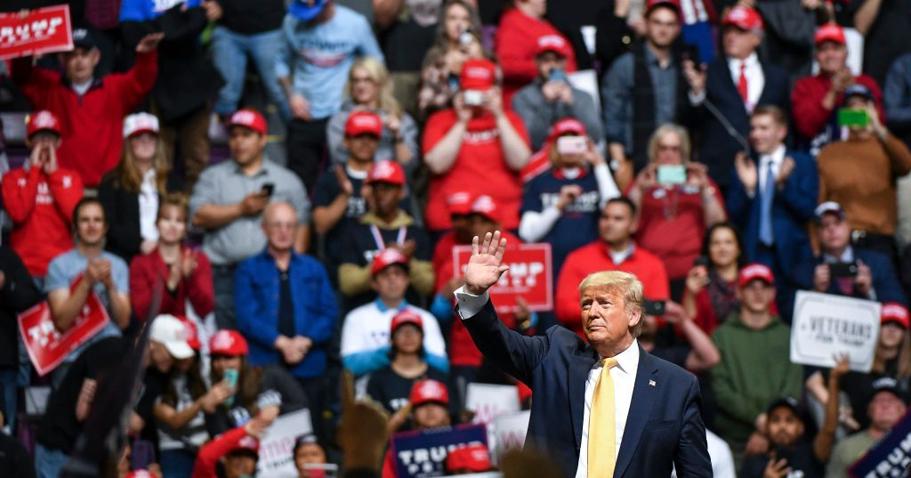 Trump Enters Full Conspiracist Mode at Colorado Springs Rally