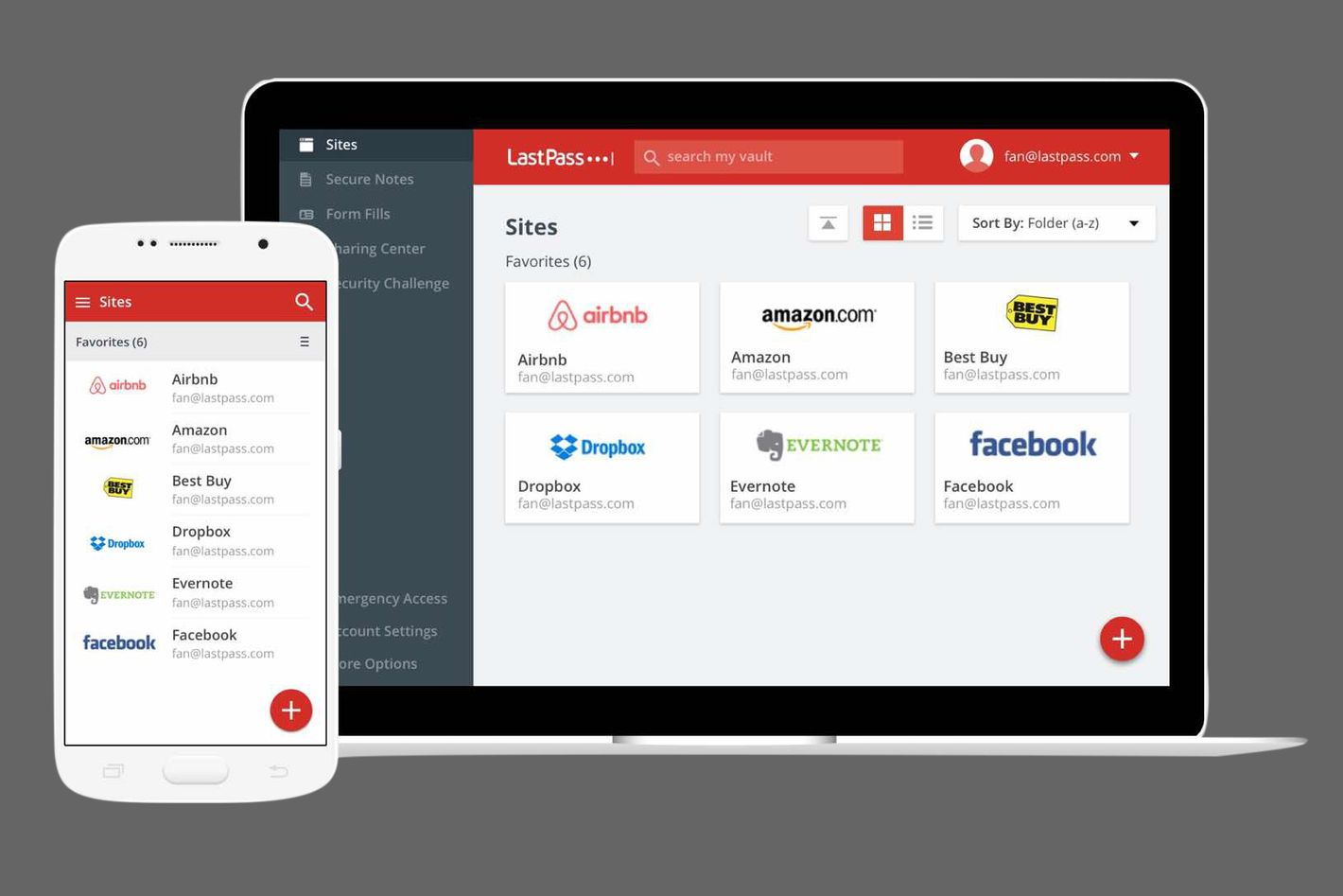 The Best Free Password Manager Is LastPass