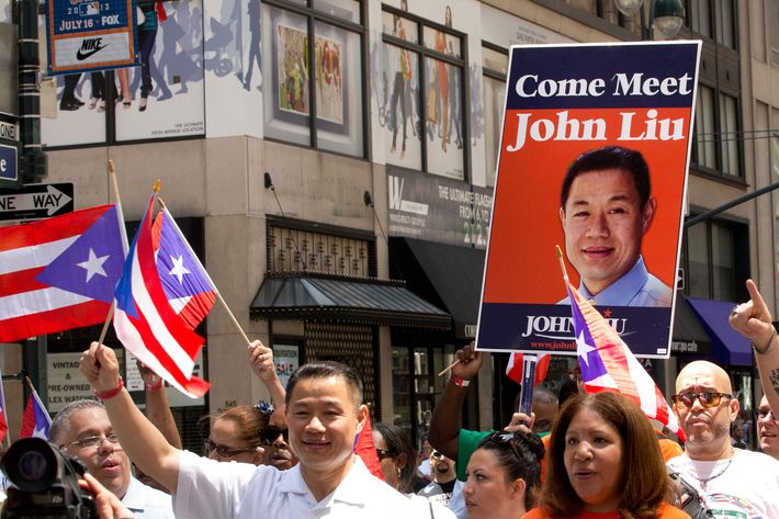 2013 NYC Puerto Rican Day Parade on Fifth Avenue in NYC