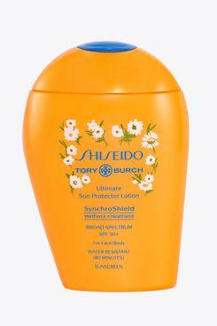 Tory Burch x Shiseido Ultimate Sun Protector Lotion SPF 50+ Sunscreen