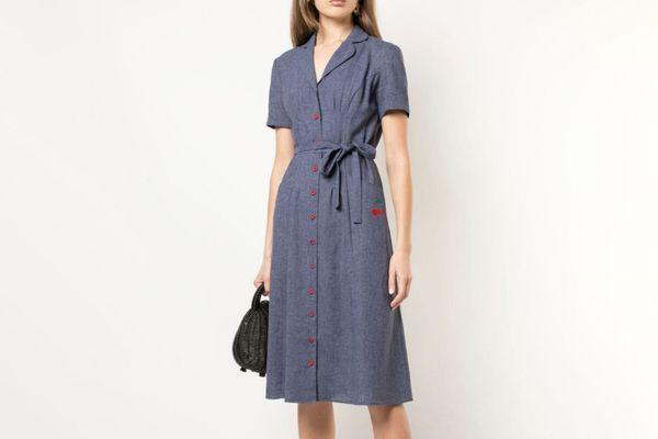 HVN Shirt Dress