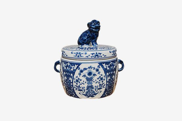The French Bee Dog-Lid Candle, Hydrangea