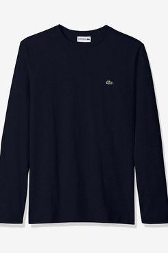 Lacoste Long Sleeve Regular Fit Crewneck T-Shirt