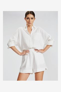 LMND The Marala Short - White Linen
