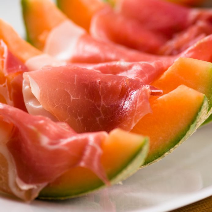 The prosciutto won't protect you!