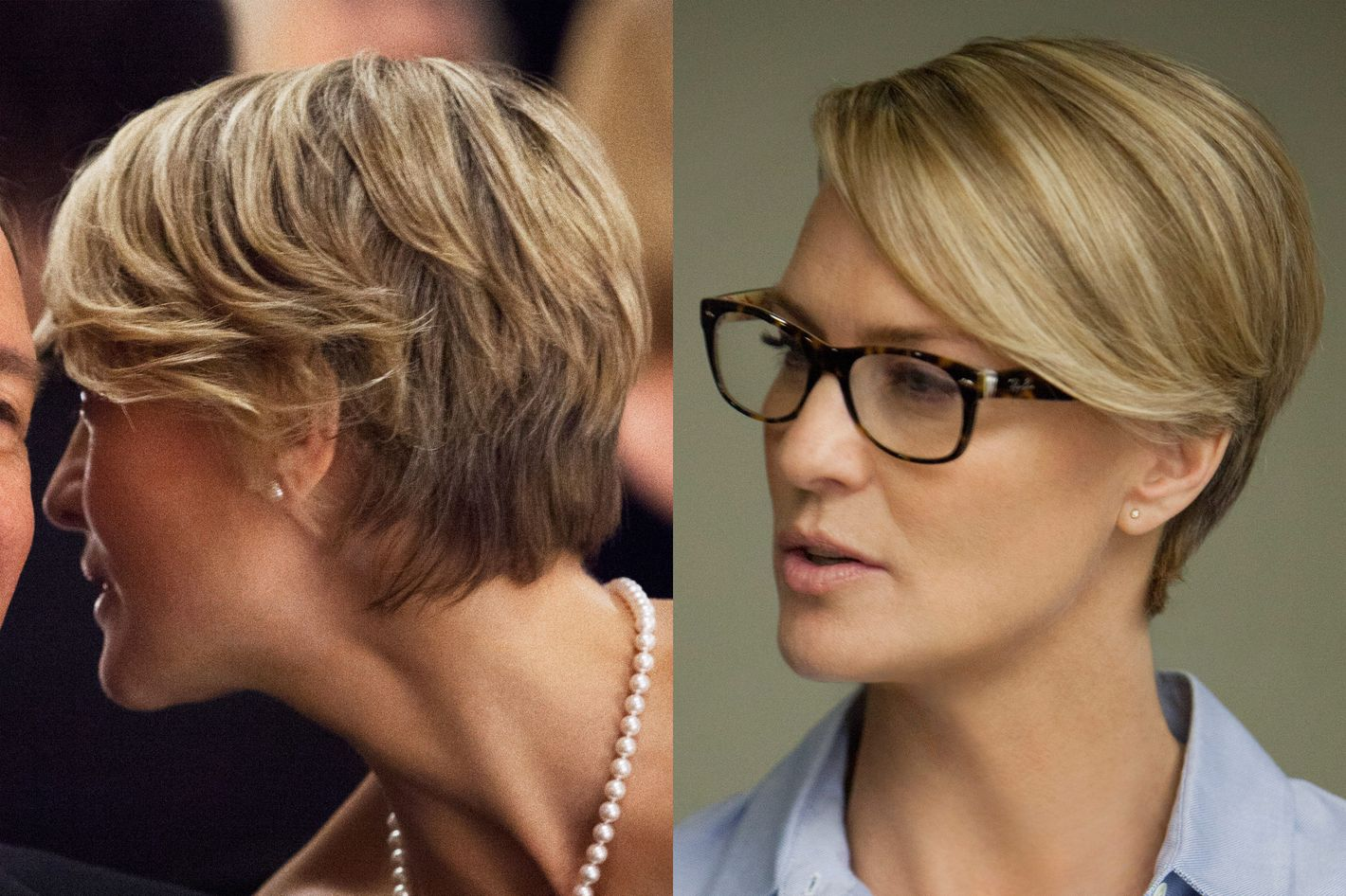 Best Haircut Robin Wright On House Of Cards
