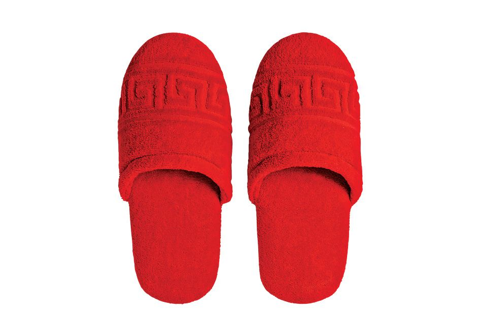 Greca Key Slippers