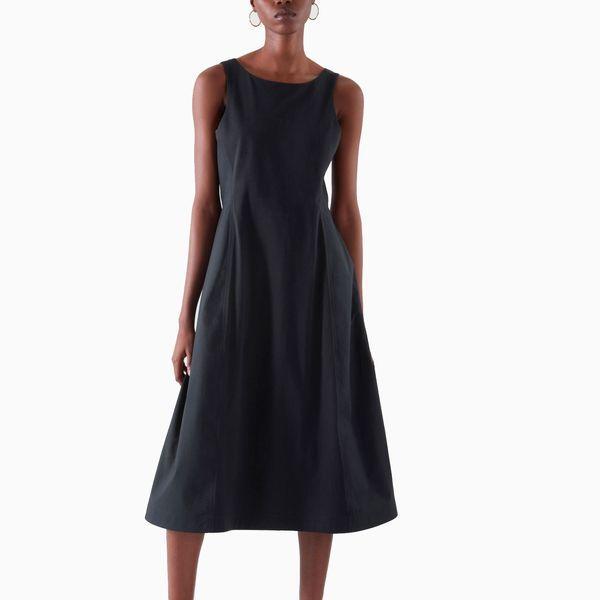 COS Flared Sleeveless Dress