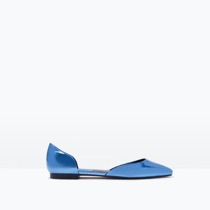 Shiny d'Orsay Shoes from Zara.