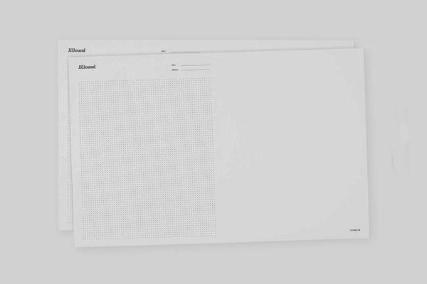 JJJJound 11-Inch-by-17-Inch Sketch Pad