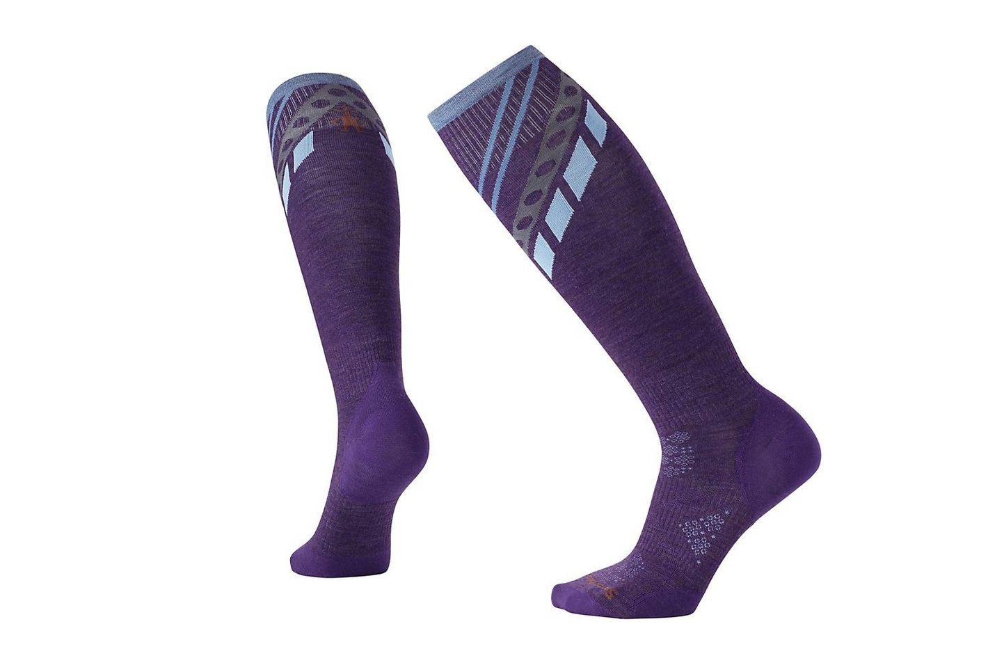 Smartwool Women's PhD Ski Ultra Light Pattern Socks