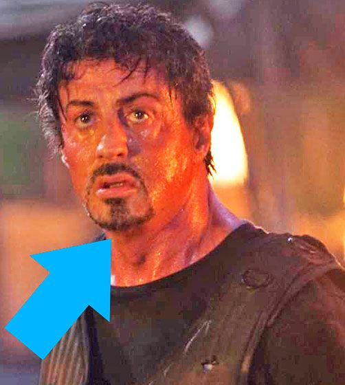 Remarkable The Eight Signature Looks Of Sylvester Stallone39S Versatile Goatee Short Hairstyles Gunalazisus