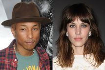 Pharrell Williams & Alexa Chung