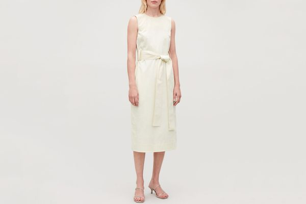 COS Belted Sleeveless Dress