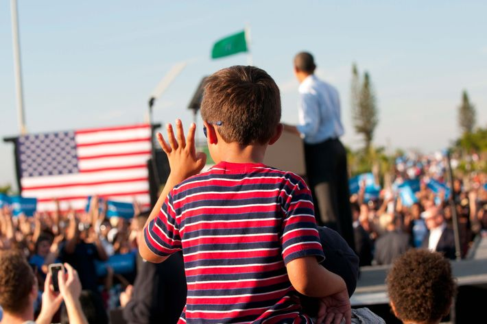 November 4, 2012 President Obama Campaigns At Grassroots Event In Hollywood.