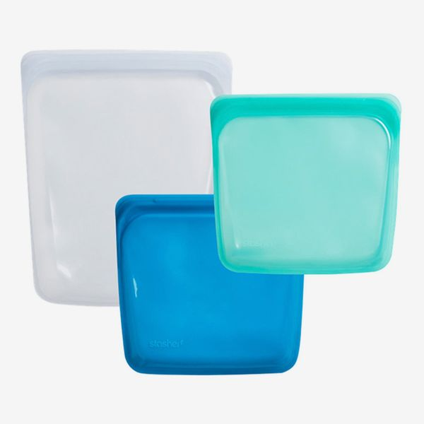 Stasher 3-Pack Reusable Silicone Storage Bags