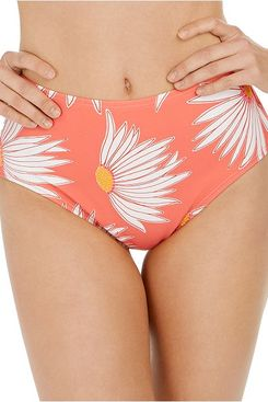 Kate Spade High-Waist Bikini Bottoms