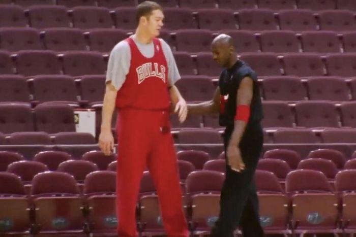 Michael Jordan's Practice Uniform Is