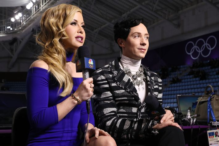 Image result for tara lipinski johnny weir olympics