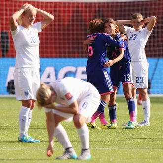 Japan v England: Semi Final - FIFA Women's World Cup 2015