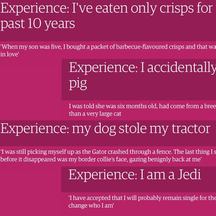 horrible experience essay