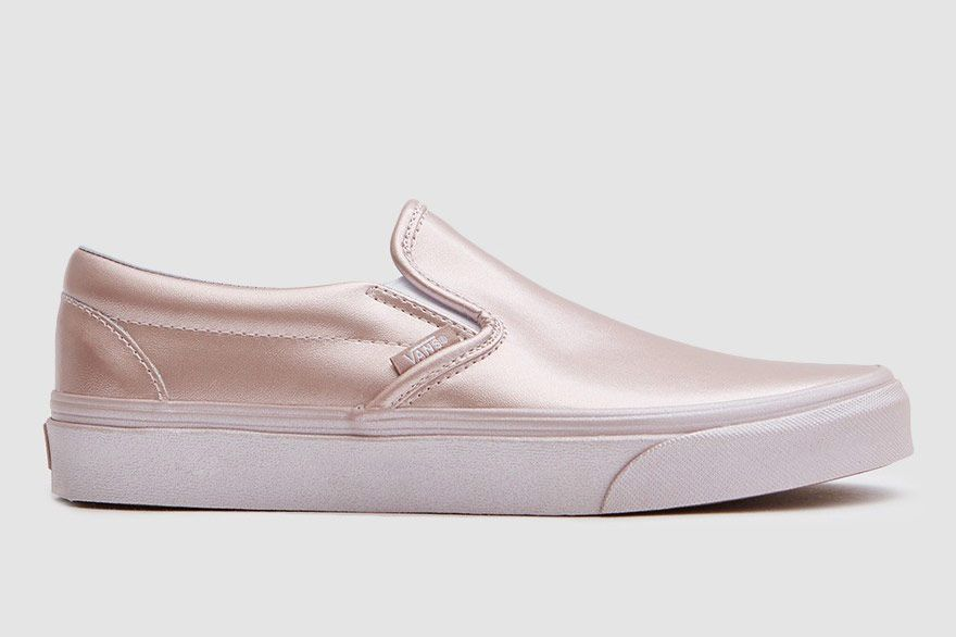 Vans Classic Slip On in Rose Gold