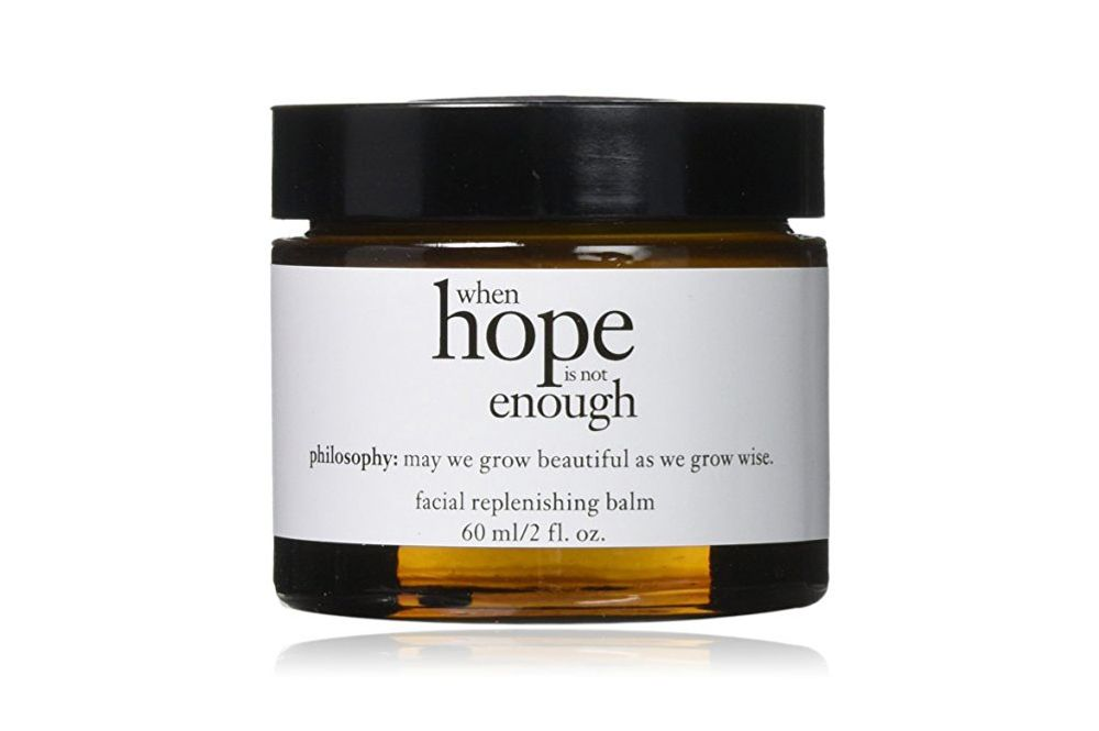 Philosophy When Hope is not Enough Facial Replenishing Balm
