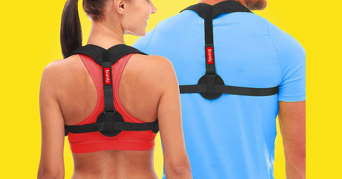 The Easy-to-Wear Brace That Fixed My Slumped Back