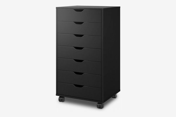 DEVAISE 7-Drawer Chest with Wheels