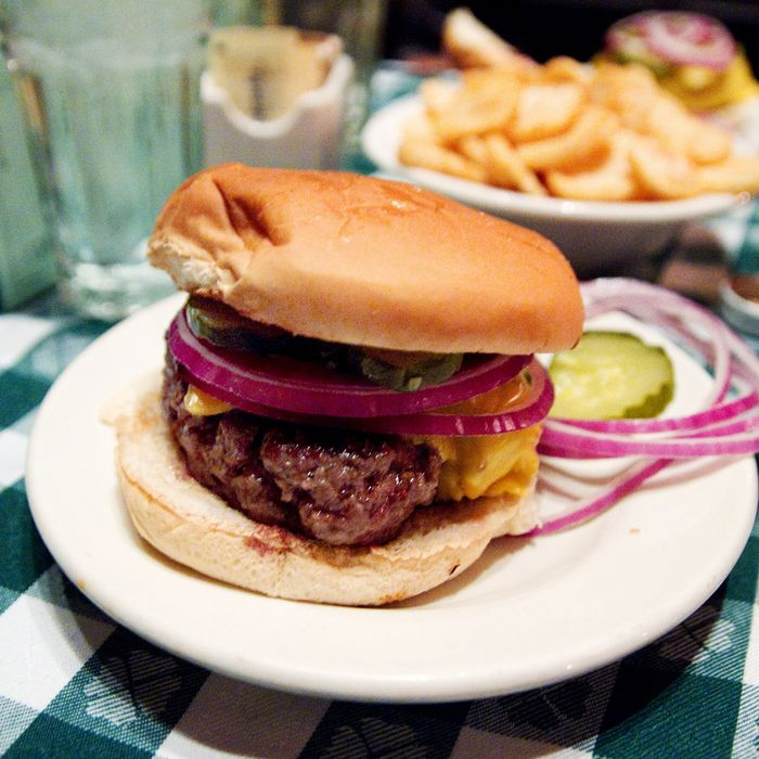 One of New York's truly iconic burgers.