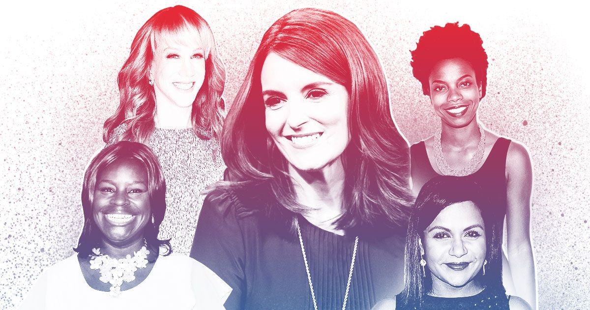 Tina Fey, Mindy Kaling, Retta, and 34 Other Female Comedians