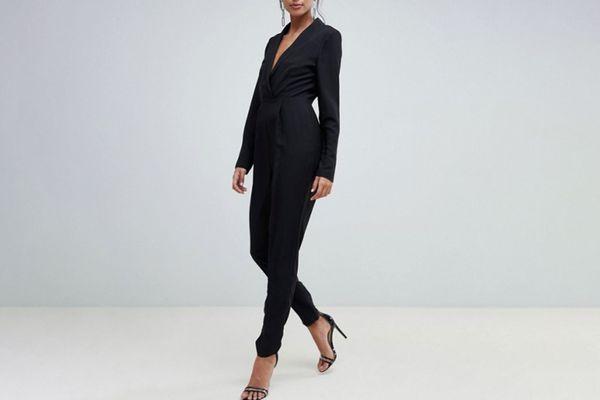 ASOS Design Tall Tux Jumpsuit