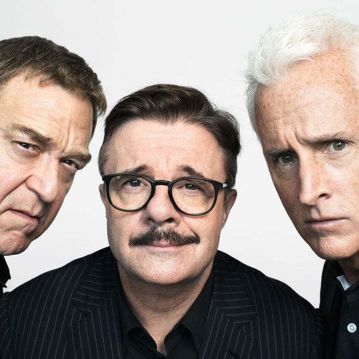 John Goodman, Nathan Lane, and John Slattery on Playing Journalists ...
