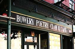Poetry on Monday, burlesque on Tuesday.