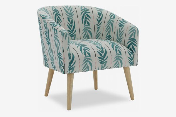 Vintage Palm Barrel Accent Chair by Drew Barrymore Flower Home