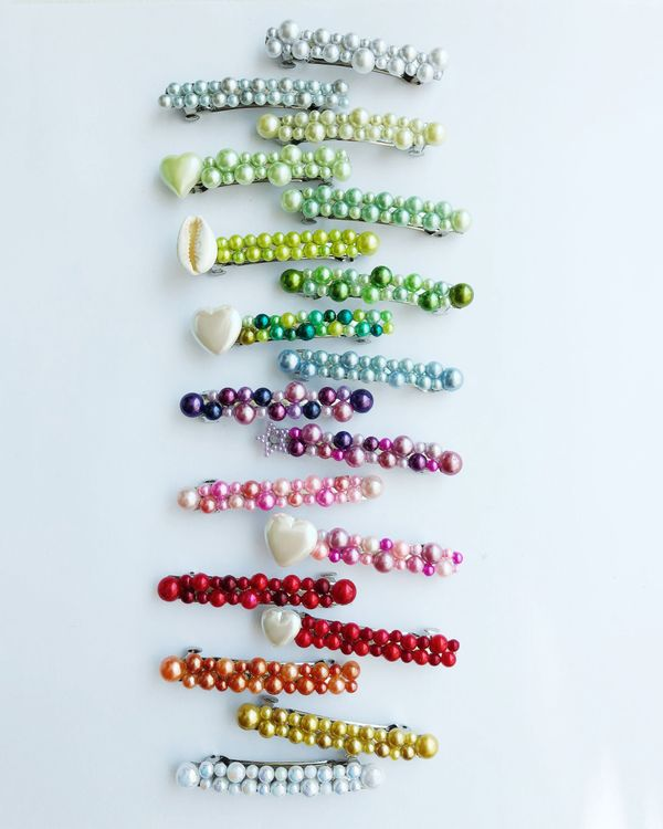 Clips /& Barrettes Many Different Colours and Designs UK Seller 100 x Hair Bands
