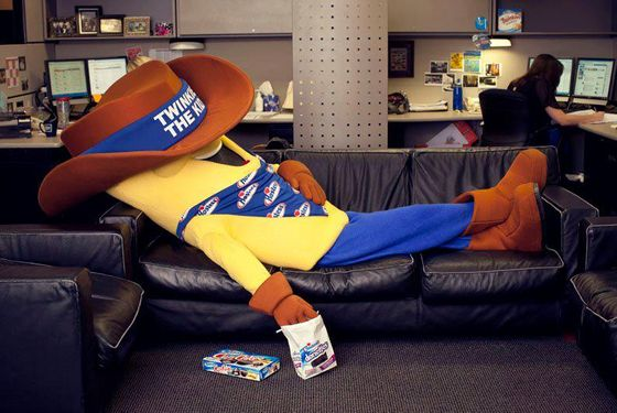 Wake up, Twinkie the Kid!