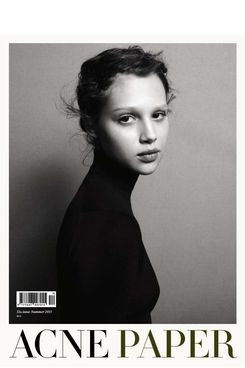 The cover of Acne's branded magazine, Acne Paper.
