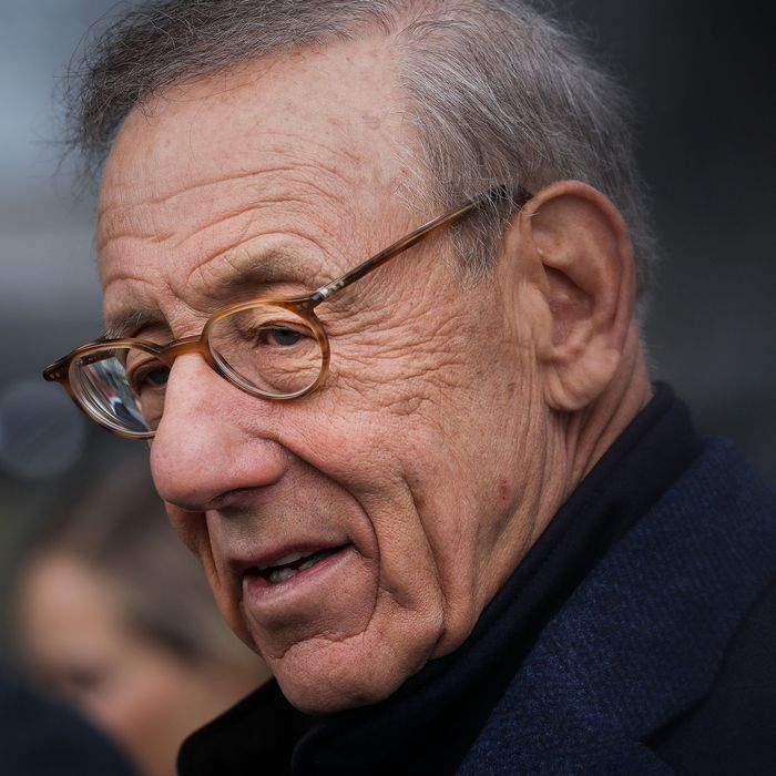 Stephen Ross, chairman and majority owner of the Related Companies, attends the grand opening of phase one of the Hudson Yards development on the West Side of Midtown Manhattan.
