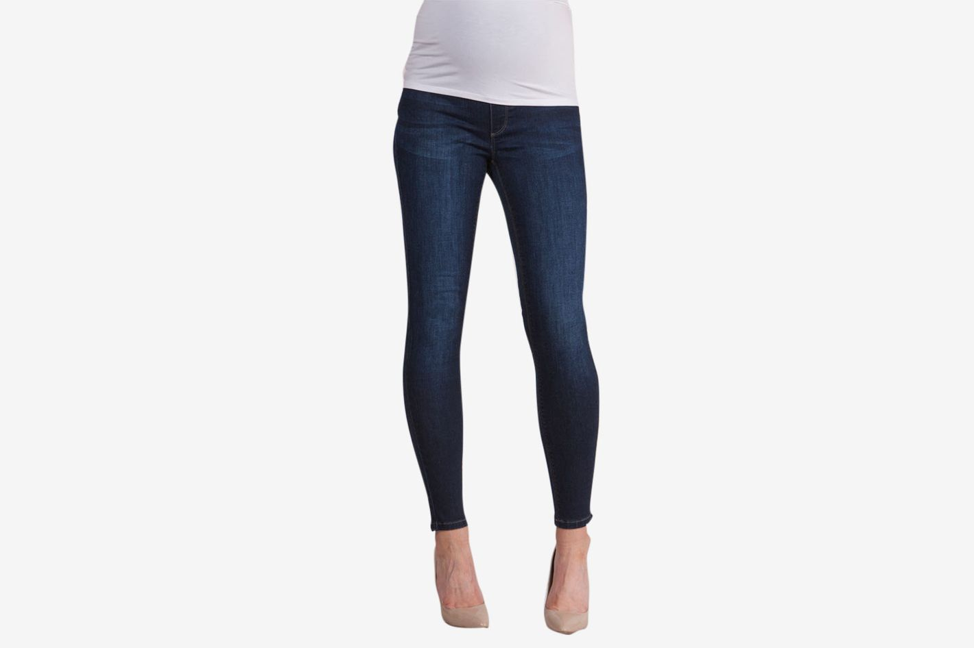 Séraphine Dark Over Bump Super-Skinny Maternity Jeans