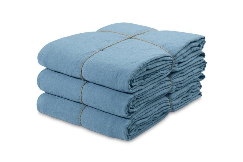 Washed Linen Flat Sheet